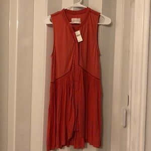 Anthropologie Coral Tunic Dress or Top
